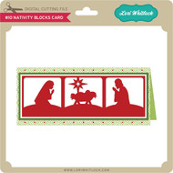#10 Nativity Blocks Card