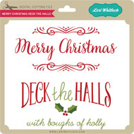 Merry Christmas Deck the Halls