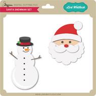 Santa Snowman Set
