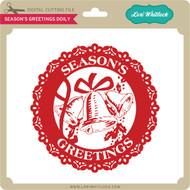 Season's Greetings Doily