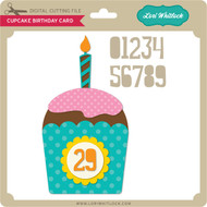 Cupcake Birthday Card