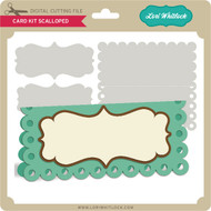 Card Kit Scalloped