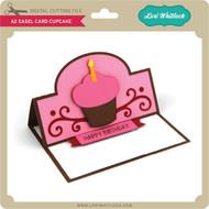 A2 Easel Card Cupcake