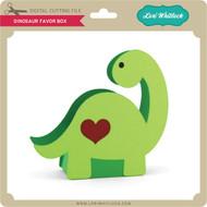 Dinosaur Favor Box