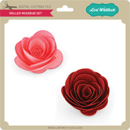 Rolled Rosebud Set