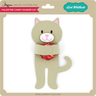 Valentine Candy Hugger Cat