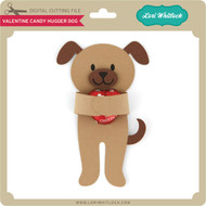 Valentine Candy Hugger Dog