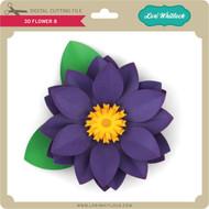 3D Flower 8