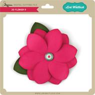 3D Flower 9