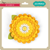 3D Flower 15
