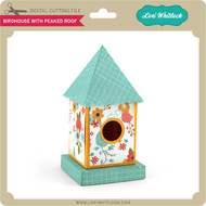 Birdhouse Peaked Roof