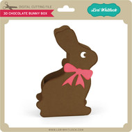 3D Chocolate Bunny Box