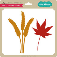Wheat and Maple Leaf