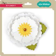3D Flower 17