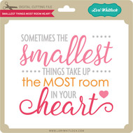 Smallest Things Most Room Heart