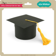 Circle Graduation Hat Box