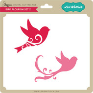 Bird Flourish Set 2