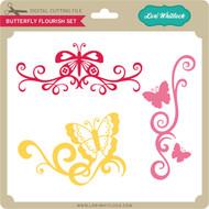 Butterfly Flourish Set