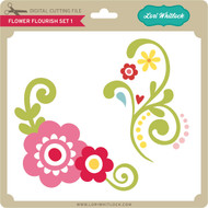 Flower Flourish Set 1