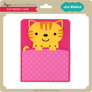 Cat Pocket Card