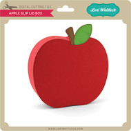 Apple Slip Lid Box