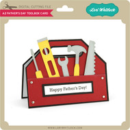 A2 Father's Day Toolbox Card