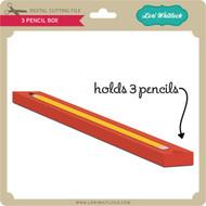 3 Pencil Box
