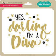 Baby T-Shirt: Darling Diva