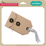 String Tie Tag Envelope