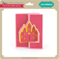 Flip Flap Card Castle