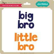 T-Shirt Set: Big Bro Little Bro