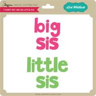 T-Shirt Set: Big Sis Little Sis