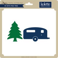 RV with Pine Tree