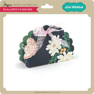 Scalloped Favor Box