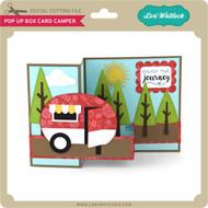 Pop Up Box Card Camper