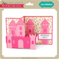 Pop Up Box Card Castle