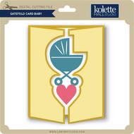 Gatefold Card Baby