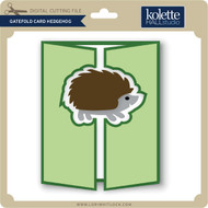 Gatefold Card Hedgehog