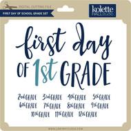 First Day of School Grade Set