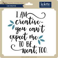 I Am Creative