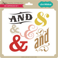 And Ampersand Set 1