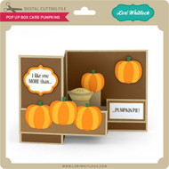 Pop Up Box Card Pumpkins
