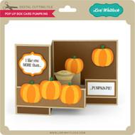 Pop Up Box Card Pumpkins