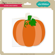Shaped Card Pumpkin