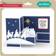 Pop Up Box Card Wisemen