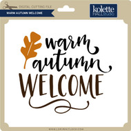 Warm Autumn Welcome