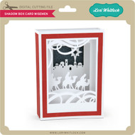 Shadow Box Card Wisemen