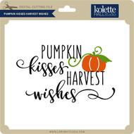 Pumpkin Kisses Harvest Wishes