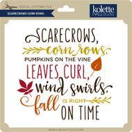 Scarecrows Corn Rows