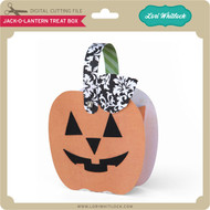 Jack-O-Lantern Treat Box